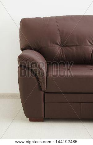 Leather Sofa Isolated