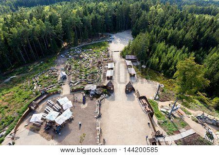 View From Lookout Tower U Jakuba, Czech Republic