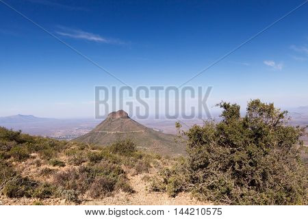 Mountain Ahead - Graaff-reinet Landscape