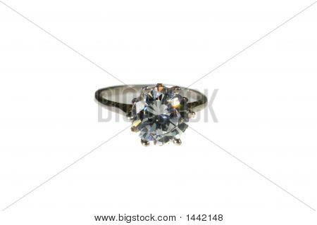 Platinum White Gold Diamond Wedding Engagement RingPlatinum White Gold Diamond Weddin