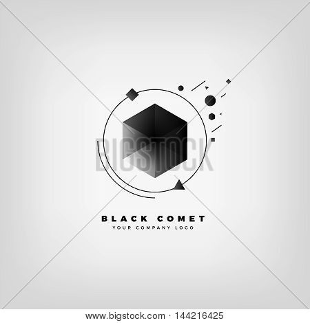 Abstract logo. Vector abstract logo. Abstract design element. Modern logo. Design element. Vector logo element. Geometric shape. Vector geometric logo