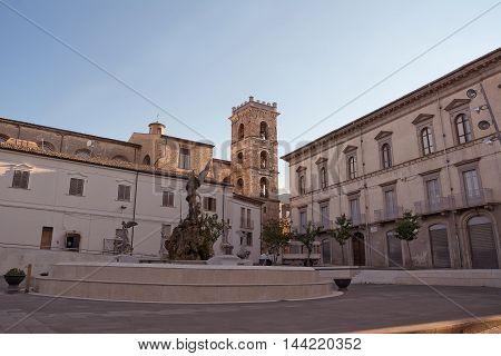 The Postigline Square in Raiano (AQ - Italy)