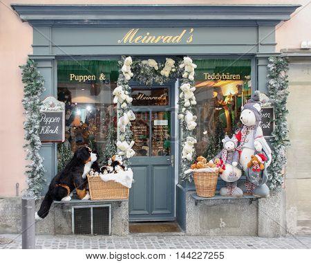 Zurich, Switzerland - November 26 2011 Christmas Store