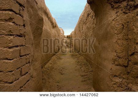 die alten Parther, turkmenistan