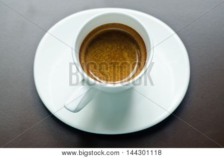 Glass Espresso Shots,glass Coffee With Coffee.