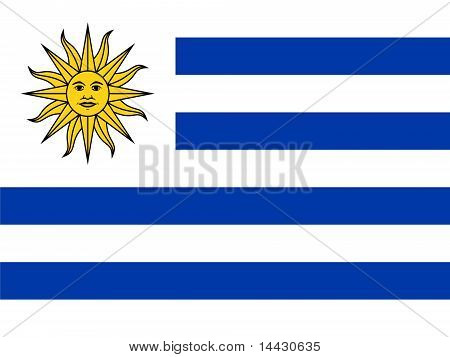 Uruguay National Flag