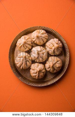 Indian sweet food called Modak, favourite of Lord Ganesha
