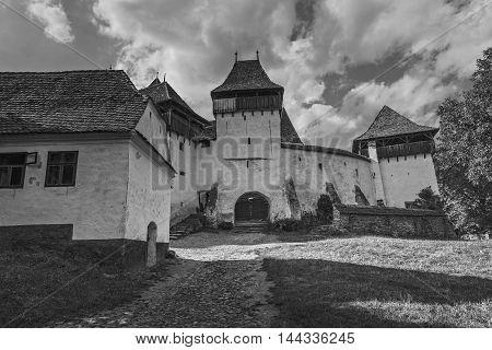 Fortified Church In Viscri, Romania