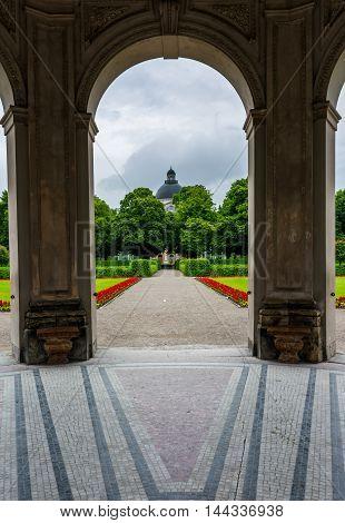 Diana Temple Interior Hofgarten Munich Germany Architecture