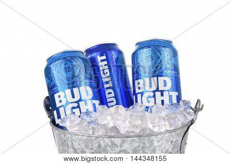 Bud Light In Ice Bucket