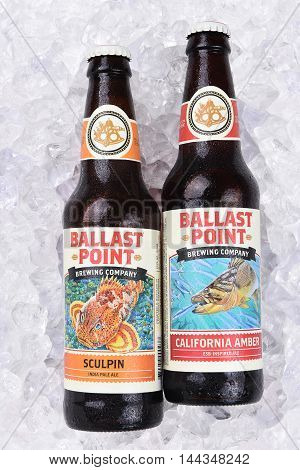 Ballast Point Ales On Ice
