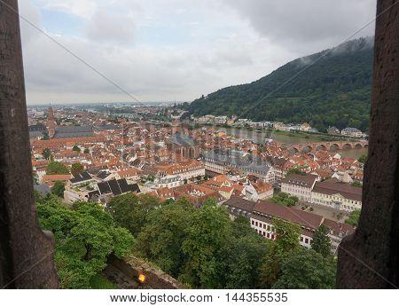 Heidelberg Aldstadt View