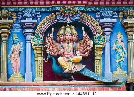 Meenakshi Temple In Madurai, India