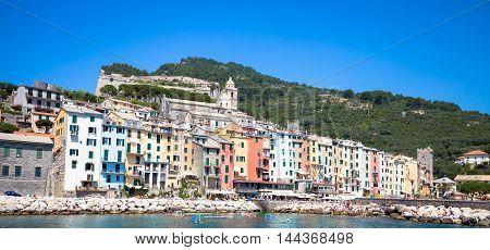 Porto Venere, Italy - June 2016 - Cityscape