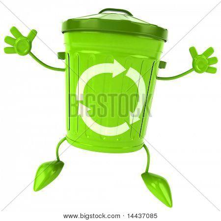 Trash can