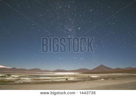 Night In Laguna Colorada