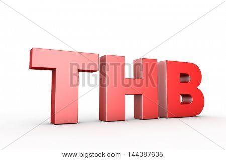 3d illustration sign thb