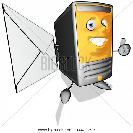 Computer email