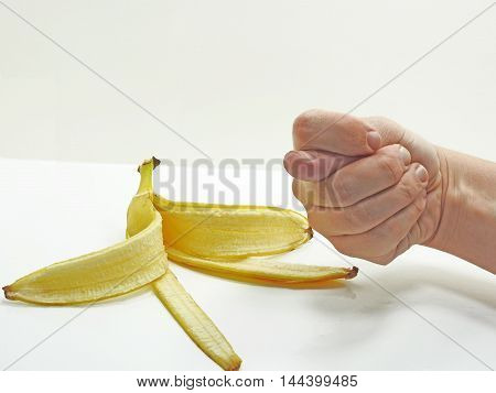 Man's Arm Showing Fig