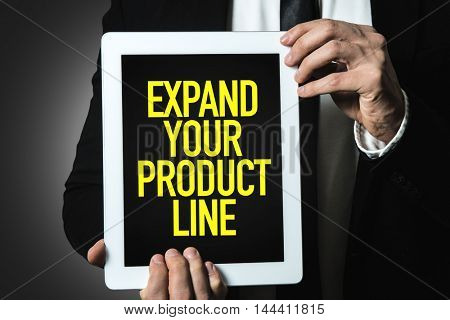 Expand Your Product Line