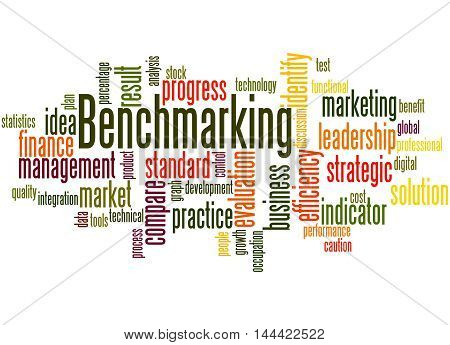 Benchmarking, Word Cloud Concept 5