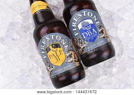 Firestone Ales On Ice Closeup