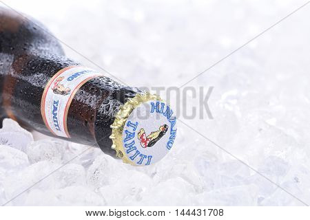 Hinano Beer On Ice