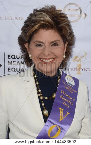 LOS ANGELES - AUG 26:  Gloria Allred at the