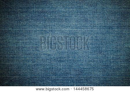 Vignetting on denim pattern for background concept