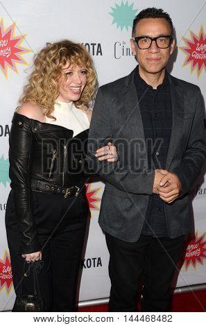 LOS ANGELES - AUG 21:  Natasha Lyonne, Fred Armisen at the