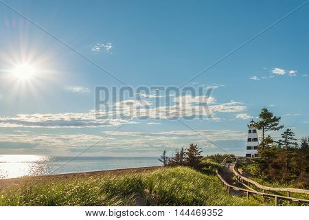 Cedar Dunes Provincial Park's Beach (Cedar Dunes Provincial Park Prince Edward Island Canada)