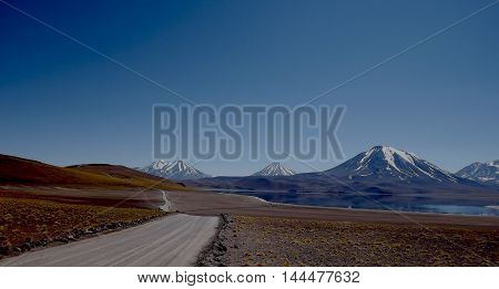 Atacama road, deserto do atacama, lagunas altiplanicas