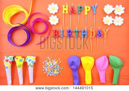 Happy Birthday Party Decorations Background
