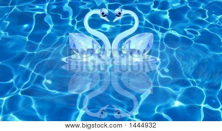 Heat Shape Swans
