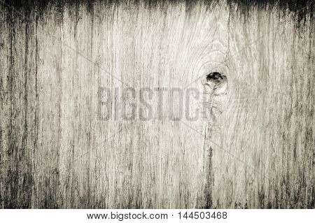 Nature gnarl wooden plank, fine texture background.