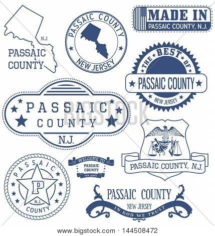 Passaic County, Nj, Generic Stamps And Signs
