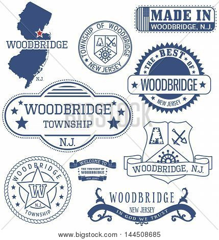Woodbridge Township, Nj, Generic Stamps And Signs