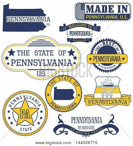 Pennsylvania Generic Stamps And Signs