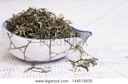 Dry loose natural organic chinese tea for slimming