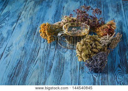Herbal Tea. Herbs And Flowers, Herbal Medicine.
