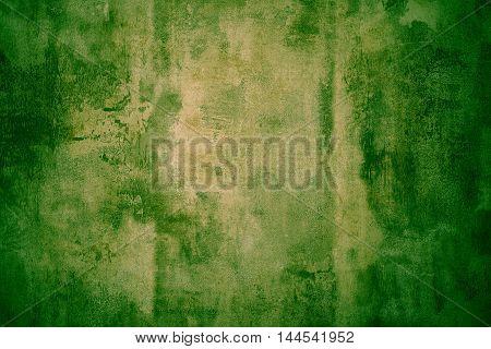 Green Grunge Textured Metal