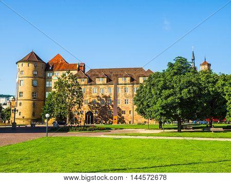 Altes Schloss (old Castle) Stuttgart Hdr