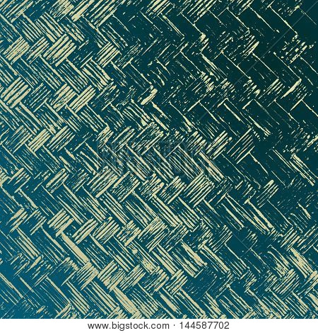 Abstract creative background of wickerwork pattern. Bamboo weave texture for design.