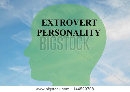 Extrovert Personality - Mental Concept