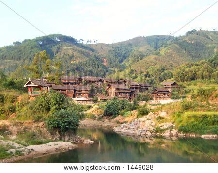 Dong Village With A Lac, Hunan, China