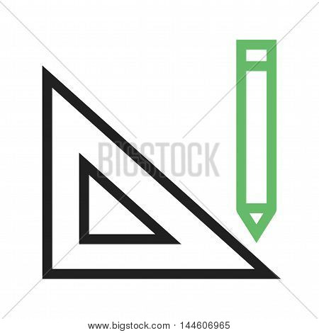 Drawing, tools, website icon vector image. Can also be used for web. Suitable for web apps, mobile apps and print media.