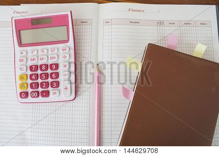 notebook monthly income and expenses planer personal