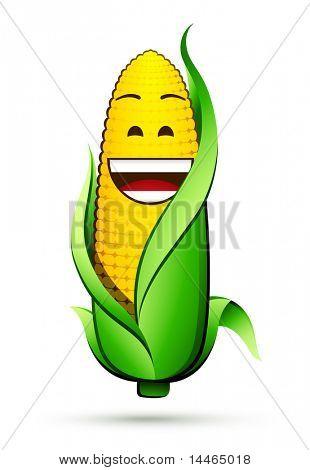 Corn on the cob character