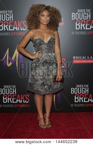 LOS ANGELES - AUG 28:  Jaz Sinclair at the