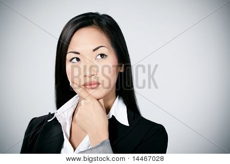 asian businessgirl portrait